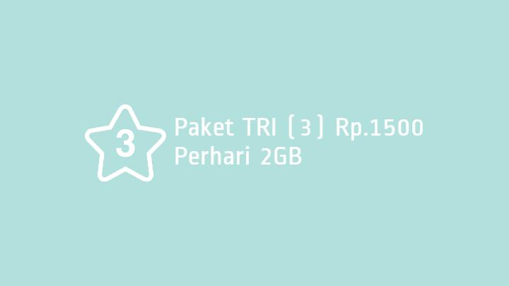 Paket Tri 2GB 1500