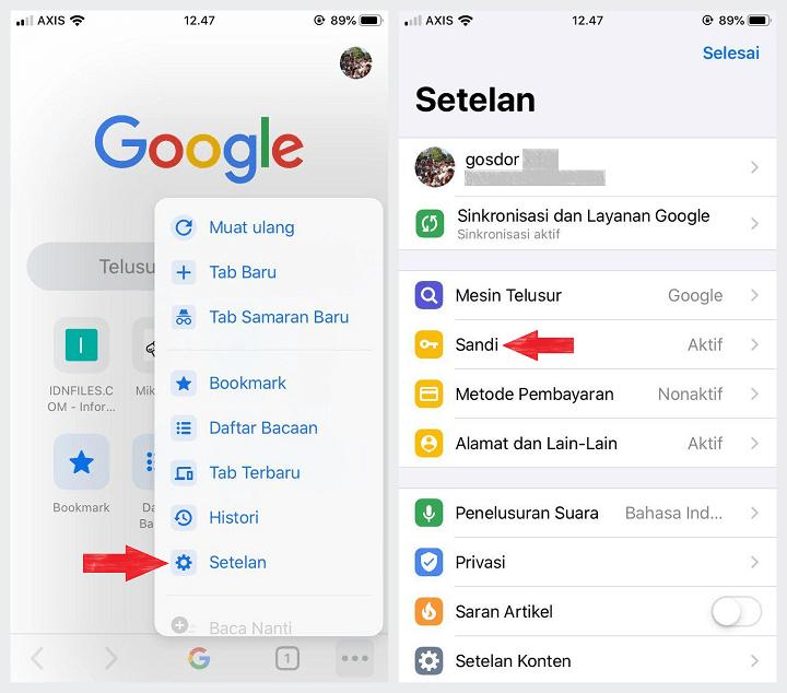 Cara melihat Password Gmail yang Tersimpan di Android