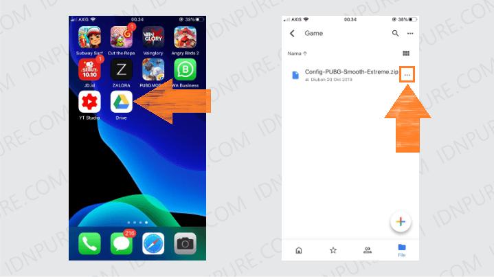 Membuat Link Unduhan Google Drive melalui HP Android