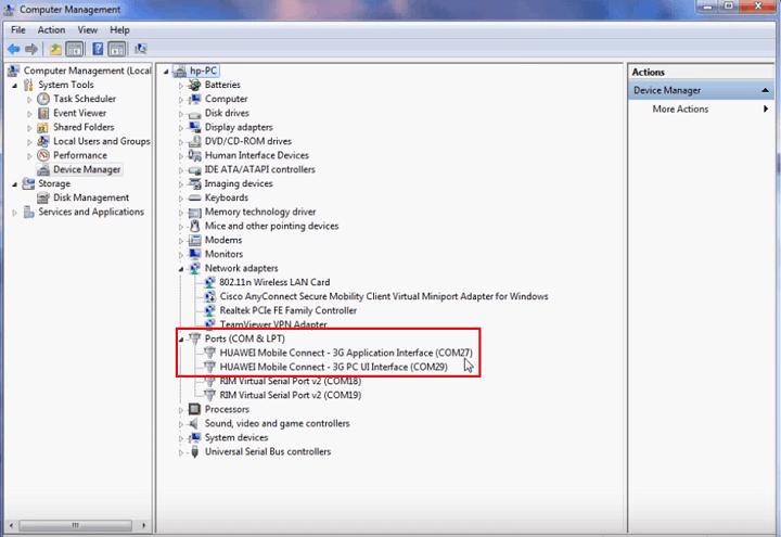 Cara Downgrade Huawei E5372s