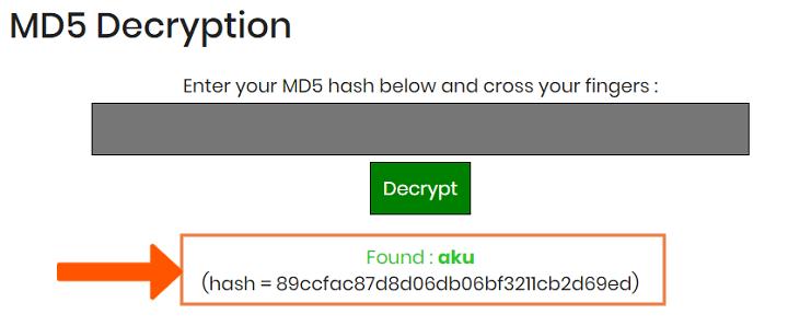 Cara Membuka File MD5 ke Text