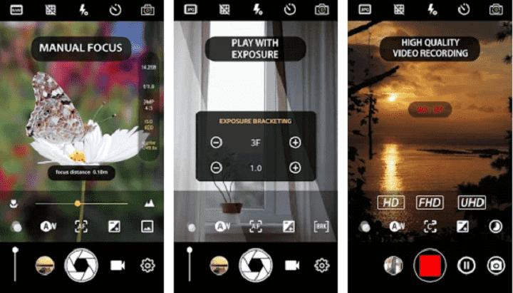 Aplikasi Kamera Manual