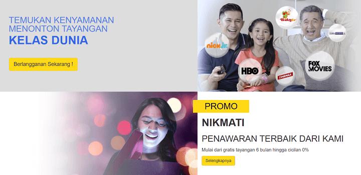 Daftar Harga Paket Internet WIFI Indovision Unlimited 2020
