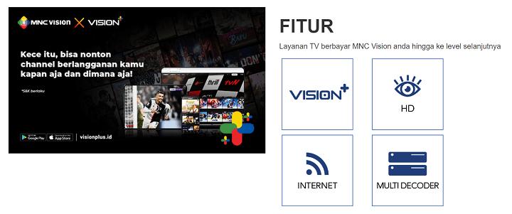 Paket Internet dan TV Kabel Indovision